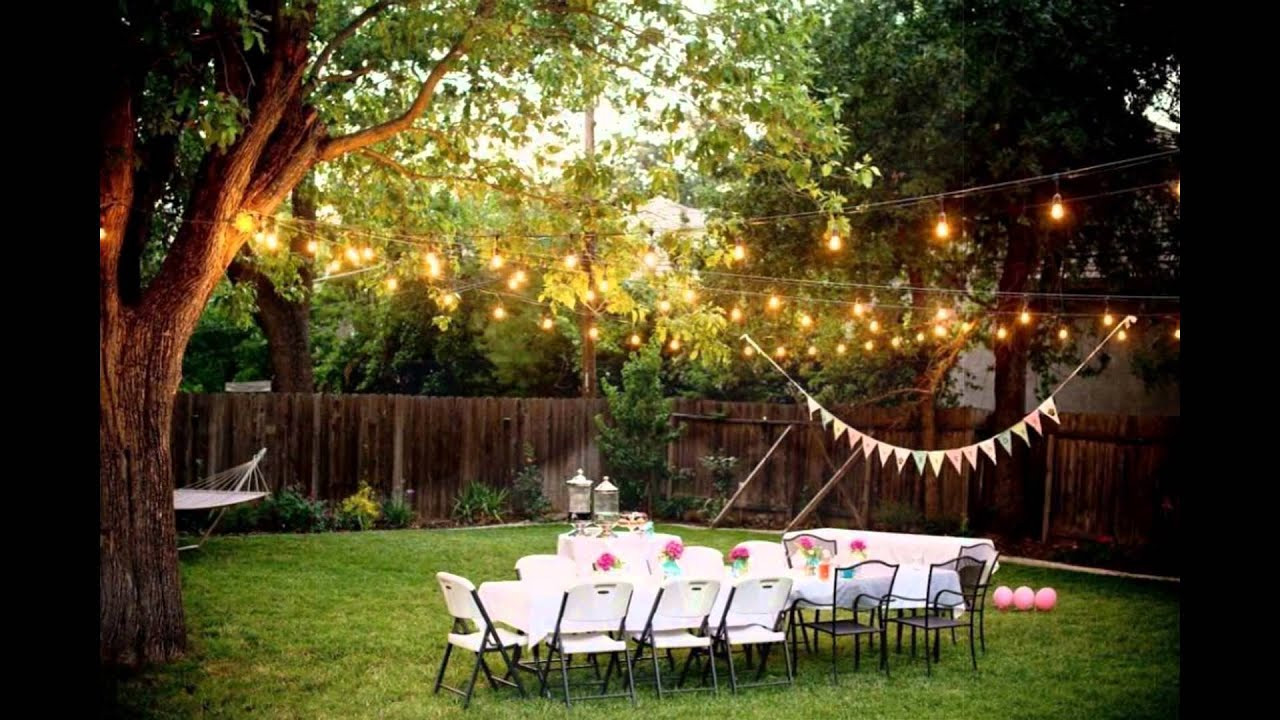 Best ideas about Small Backyard Wedding . Save or Pin Backyard Weddings on a Bud Now.