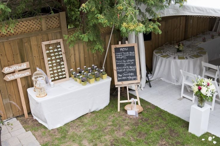 Best ideas about Small Backyard Wedding . Save or Pin small backyard wedding has similar layout to our Now.