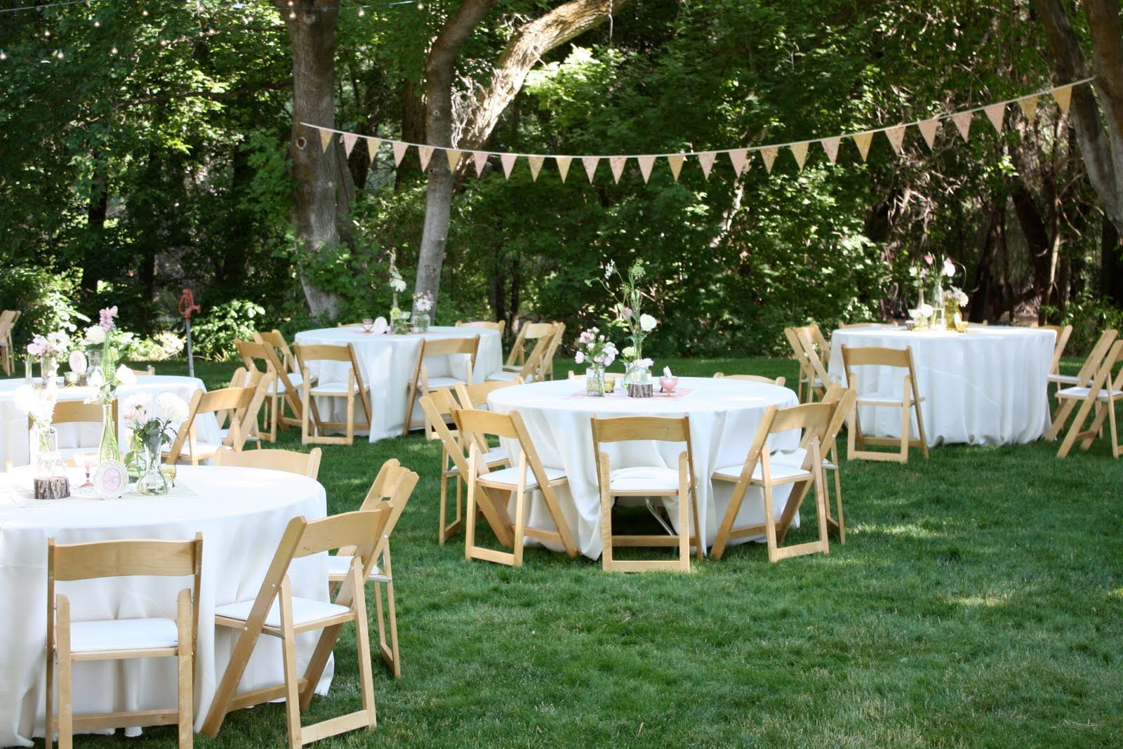 Best ideas about Small Backyard Wedding . Save or Pin backyard wedding reception decoration ideas Now.