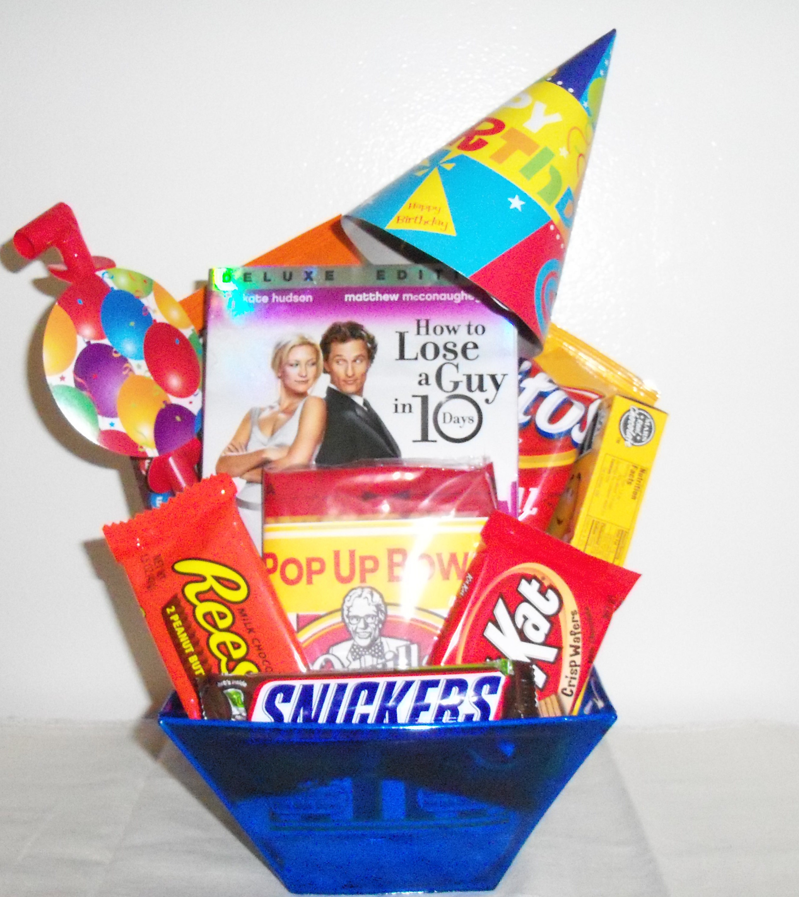 Best ideas about Small Birthday Gift Ideas . Save or Pin Small Birthday Gift Basket Gift Ideas ☆ Now.