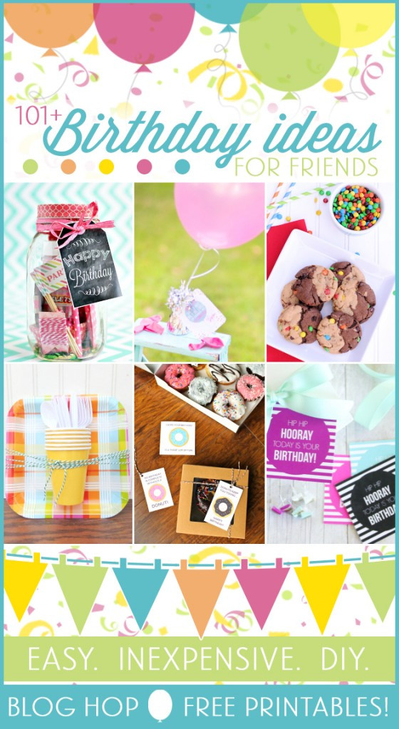 Best ideas about Small Birthday Gift Ideas . Save or Pin Small Gift Ideas for Friends by Love The Day Now.