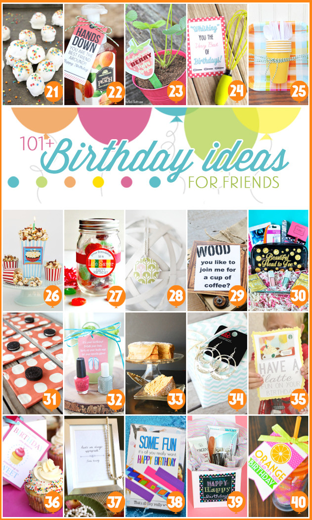 Best ideas about Small Birthday Gift Ideas . Save or Pin 101 Creative & Inexpensive Birthday Gift Ideas Now.