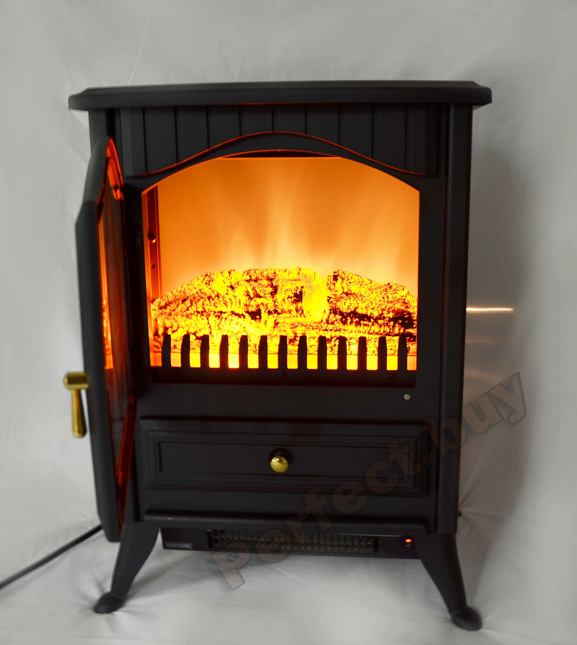 """Best ideas about Small Electric Fireplace . Save or Pin 16"""" Free Standing Portable Small Size Electric Fireplace Now."""