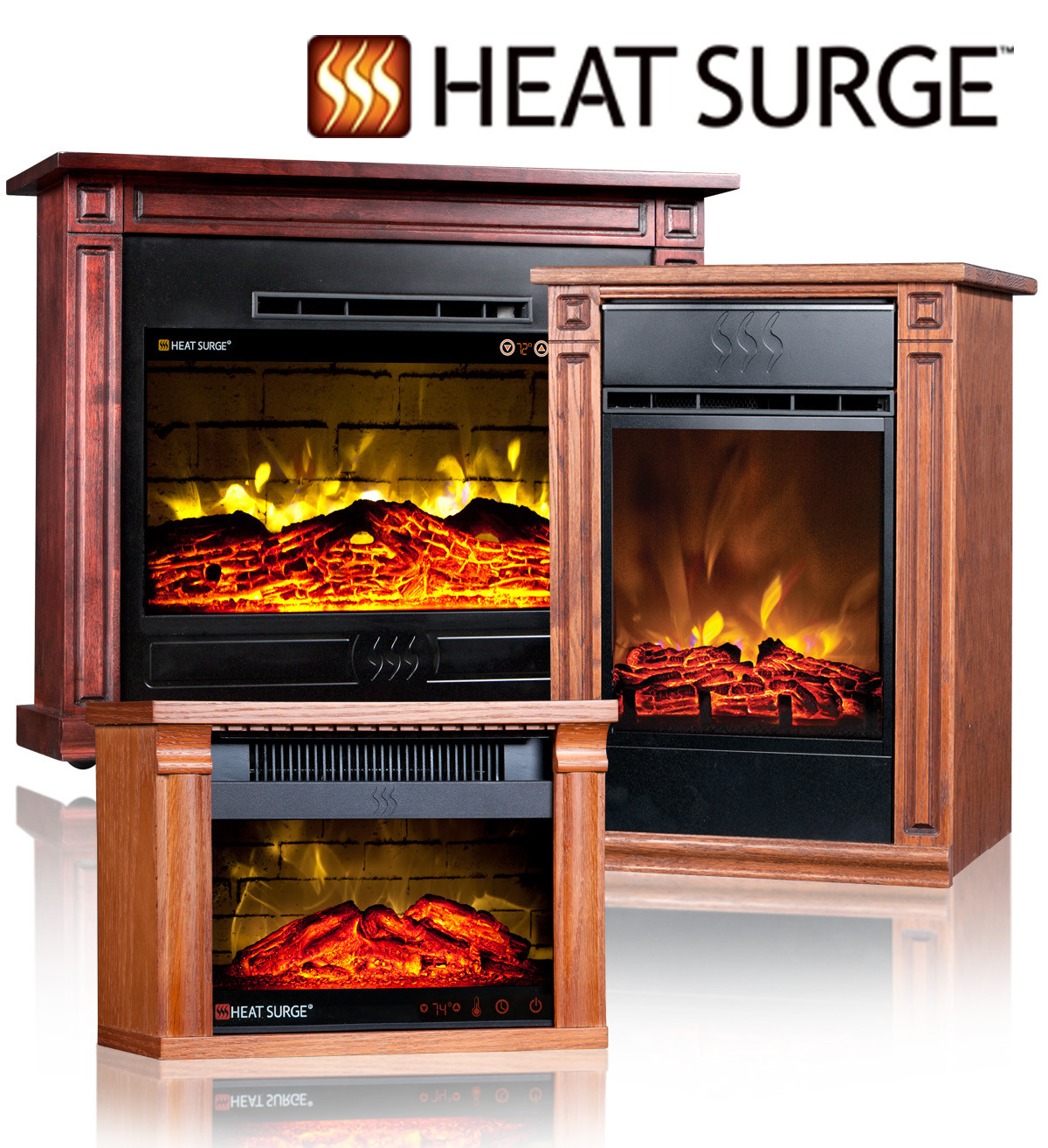 Best ideas about Small Electric Fireplace . Save or Pin Small Electric Fireplace Heat Surge Mini Glo Touch Now.