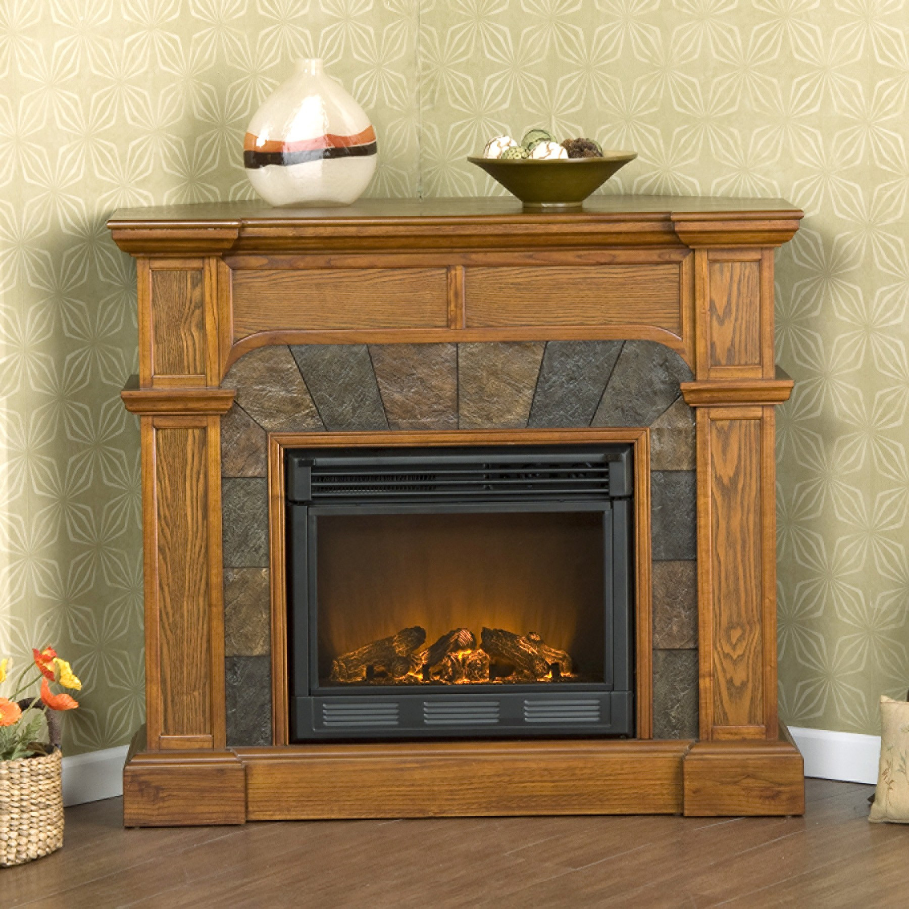 Best ideas about Small Electric Fireplace . Save or Pin Decorate Small Electric Fireplaces — Kokoazik Home Designs Now.