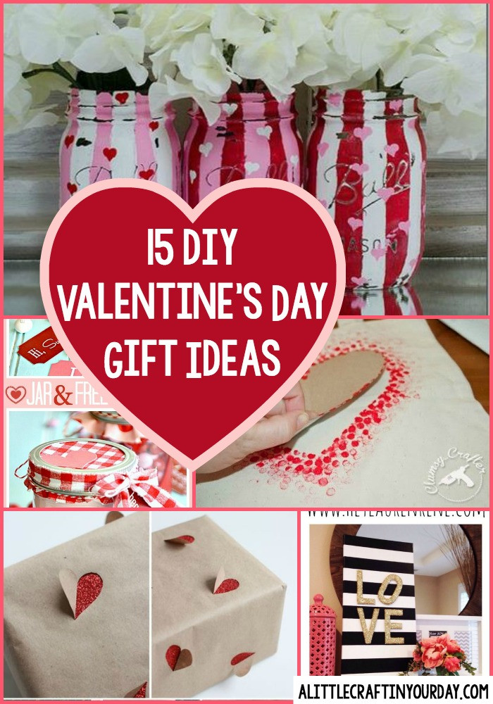 Best ideas about Small Valentine Gift Ideas . Save or Pin DIY Valentines Day Gift Ideas A Little Craft In Your Day Now.