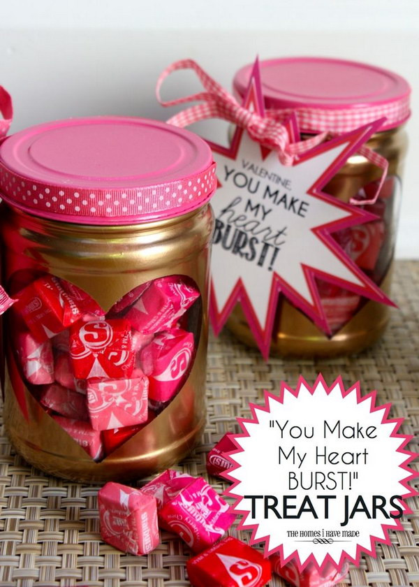 Best ideas about Small Valentine Gift Ideas . Save or Pin 55 DIY Mason Jar Gift Ideas for Valentine s Day 2018 Now.