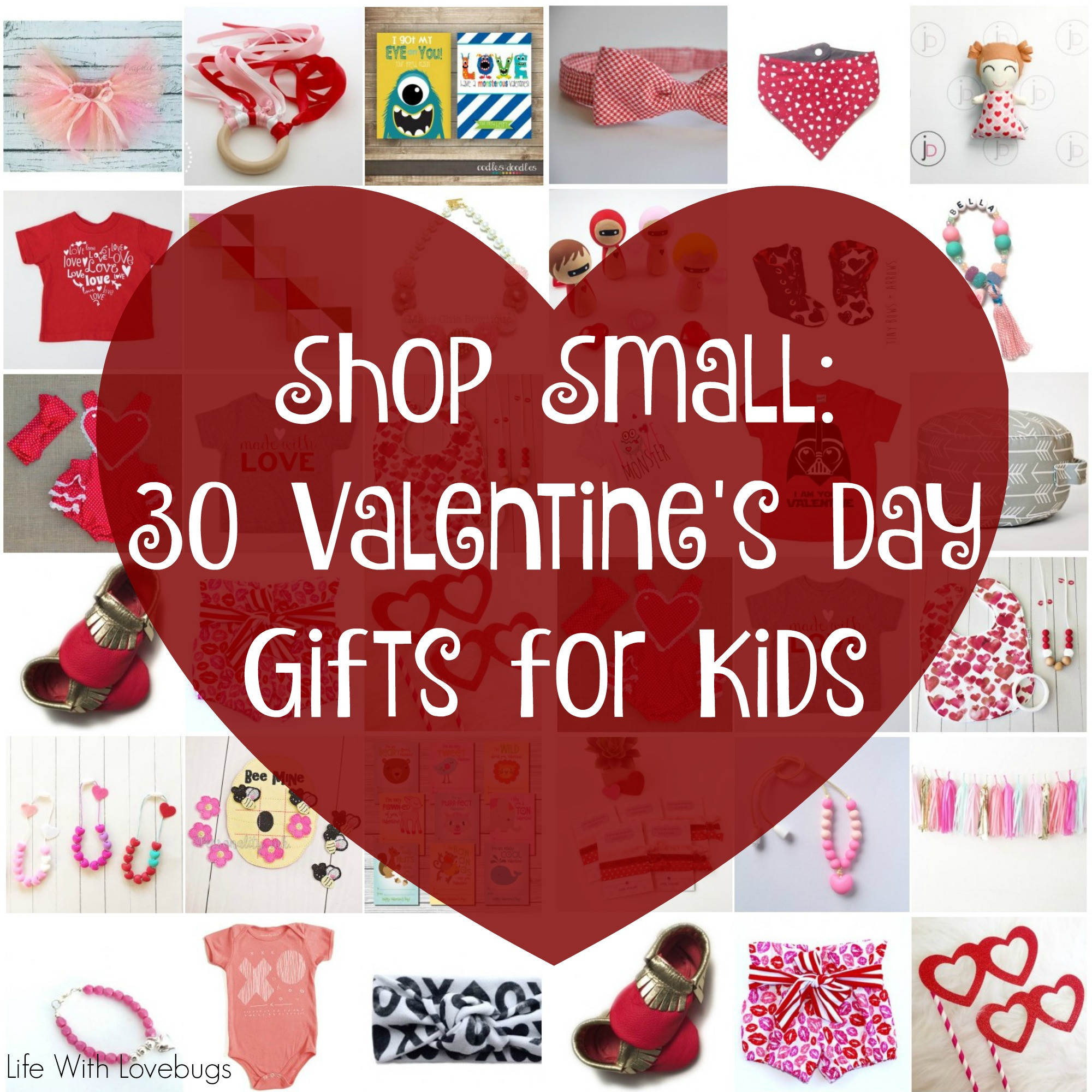 Best ideas about Small Valentine Gift Ideas . Save or Pin Shop Small 30 Valentines Day Gifts for Kids Life With Now.