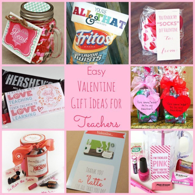 Best ideas about Small Valentine Gift Ideas . Save or Pin Easy Valentine Gift Ideas for the Teacher Happy Home Fairy Now.