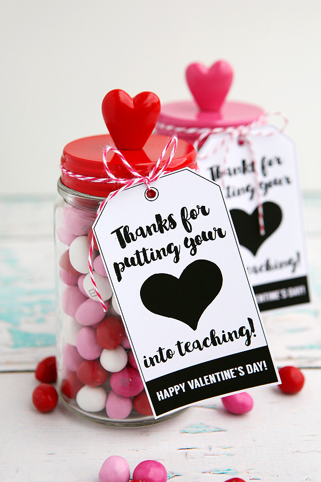 Best ideas about Small Valentine Gift Ideas . Save or Pin Valentine s Day Gifts For Teachers Eighteen25 Now.