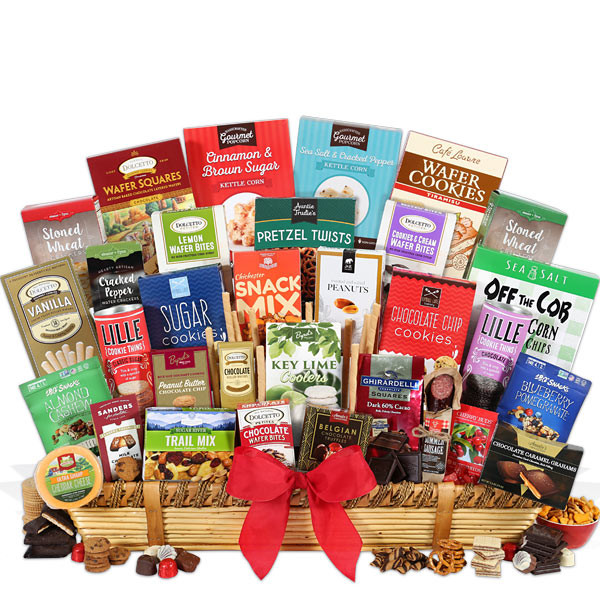 Best ideas about Snack Gift Basket Ideas . Save or Pin Signature Series Executive Suite Snack Gift Basket by Now.