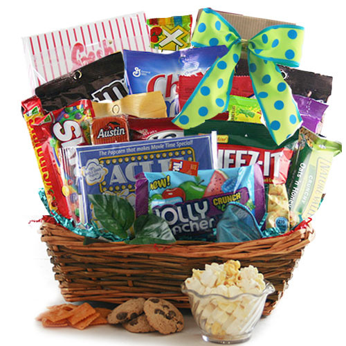 Best ideas about Snack Gift Basket Ideas . Save or Pin Snack Gift Baskets Endless Edibles Snack Gift Basket Now.