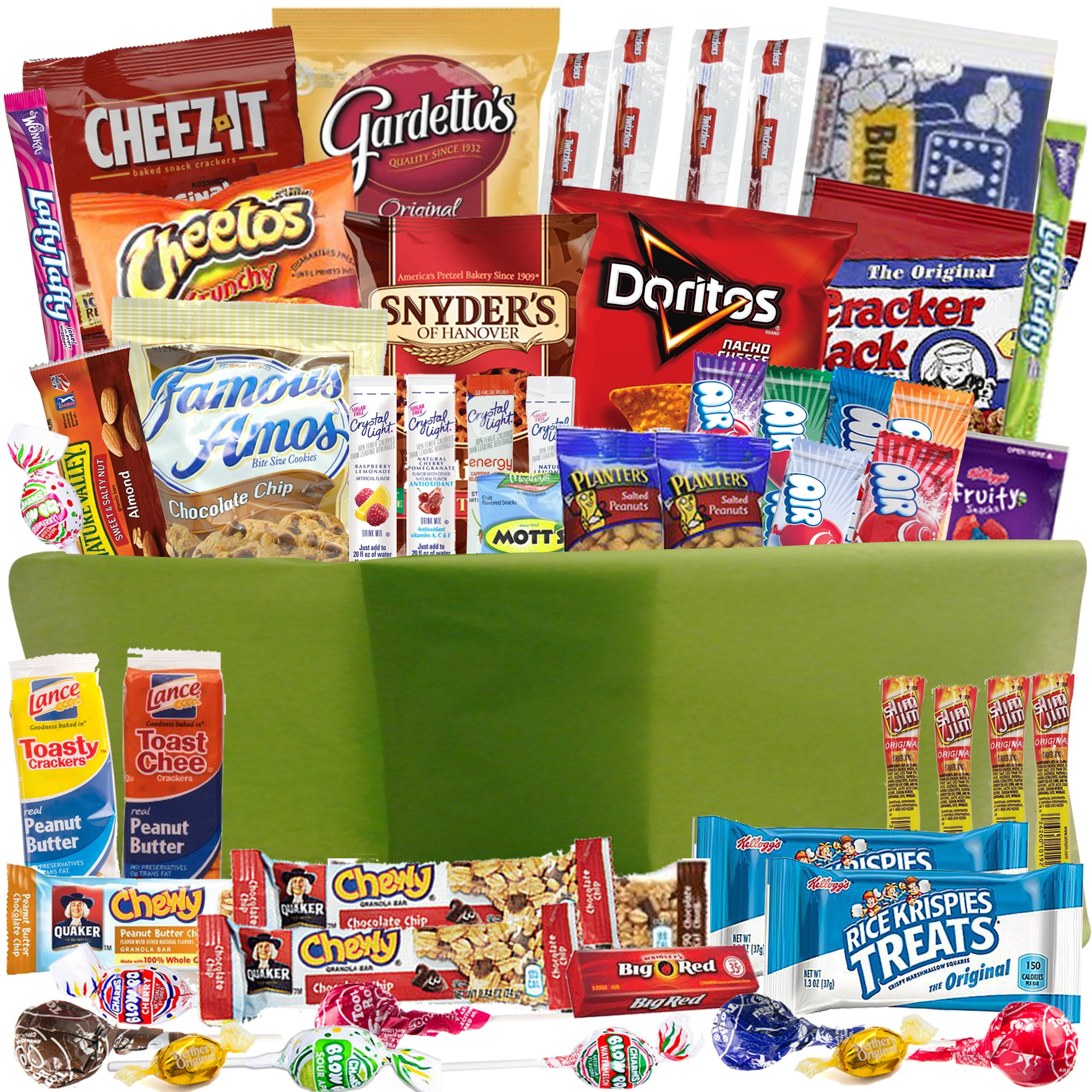 Best ideas about Snack Gift Basket Ideas . Save or Pin Amazon Healthy Snacks Gift Basket Care Package 32 Now.