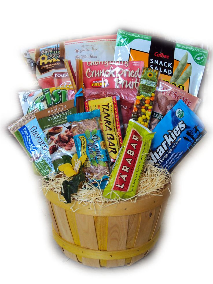 Best ideas about Snack Gift Basket Ideas . Save or Pin 17 Best images about healthy snack baskets N ideas on Now.