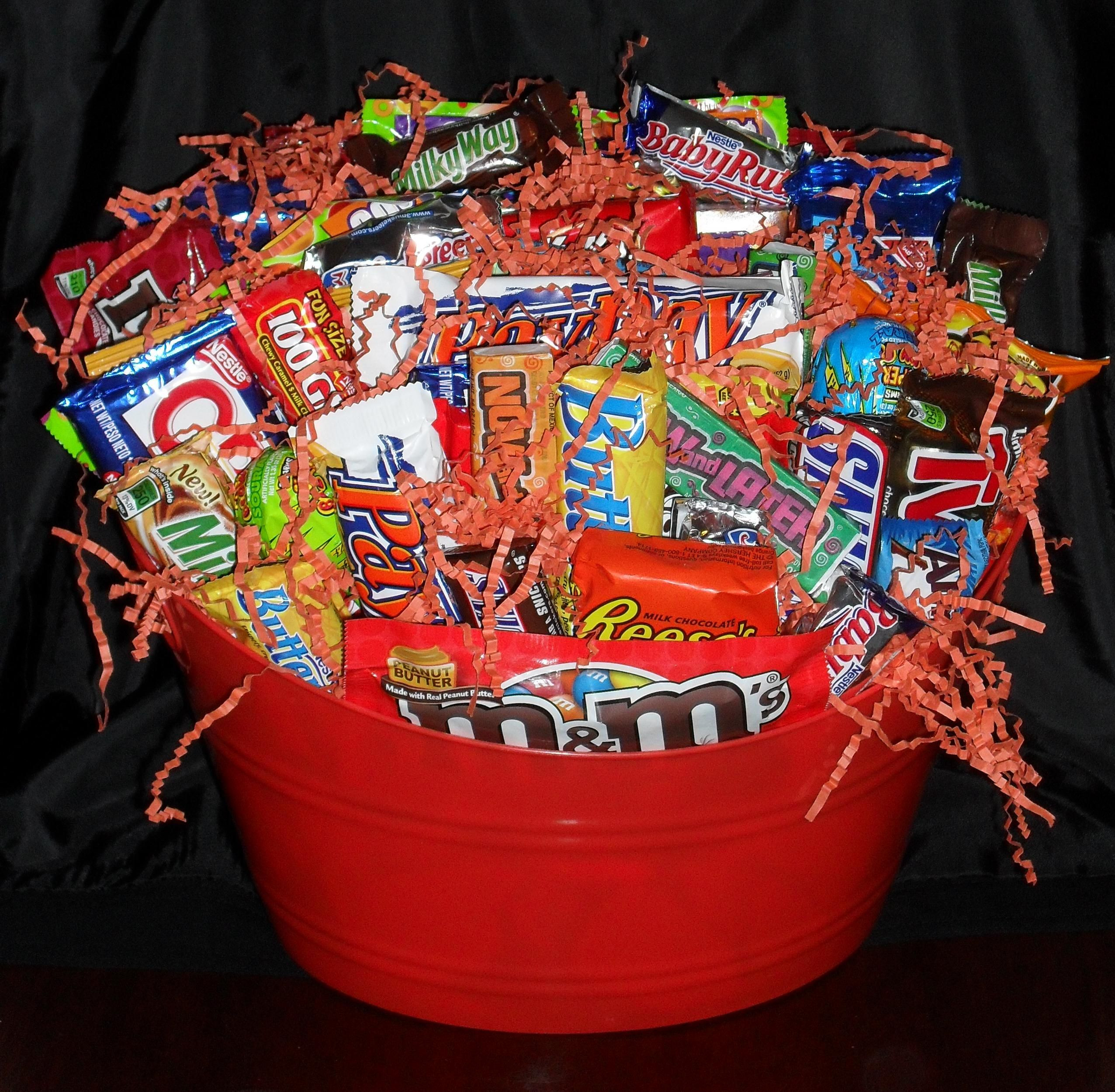 Best ideas about Snack Gift Basket Ideas . Save or Pin Snack t basket by Now.