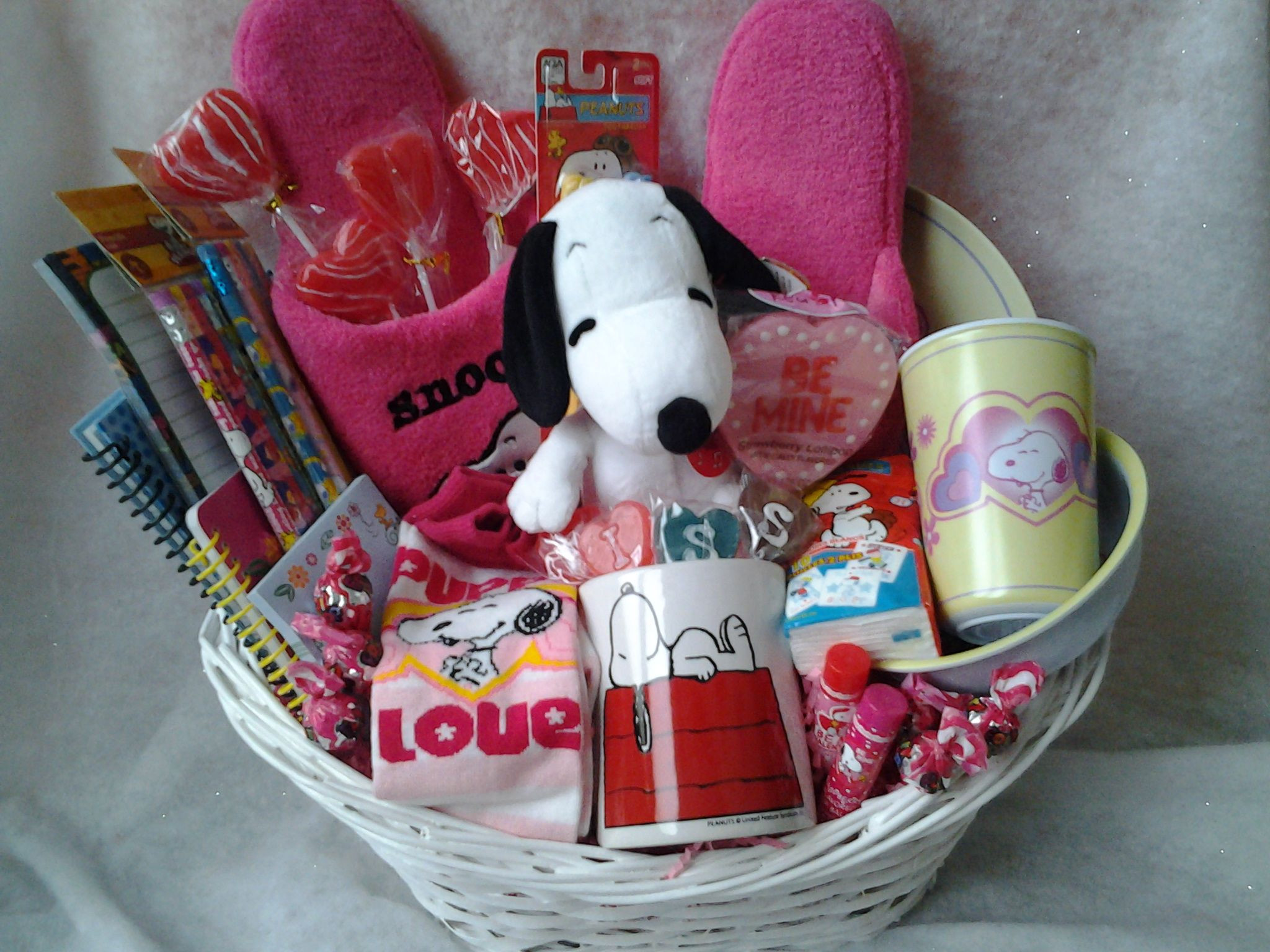 Best ideas about Snoopy Gift Ideas . Save or Pin snoopy t basket Snoopy Pinterest Now.