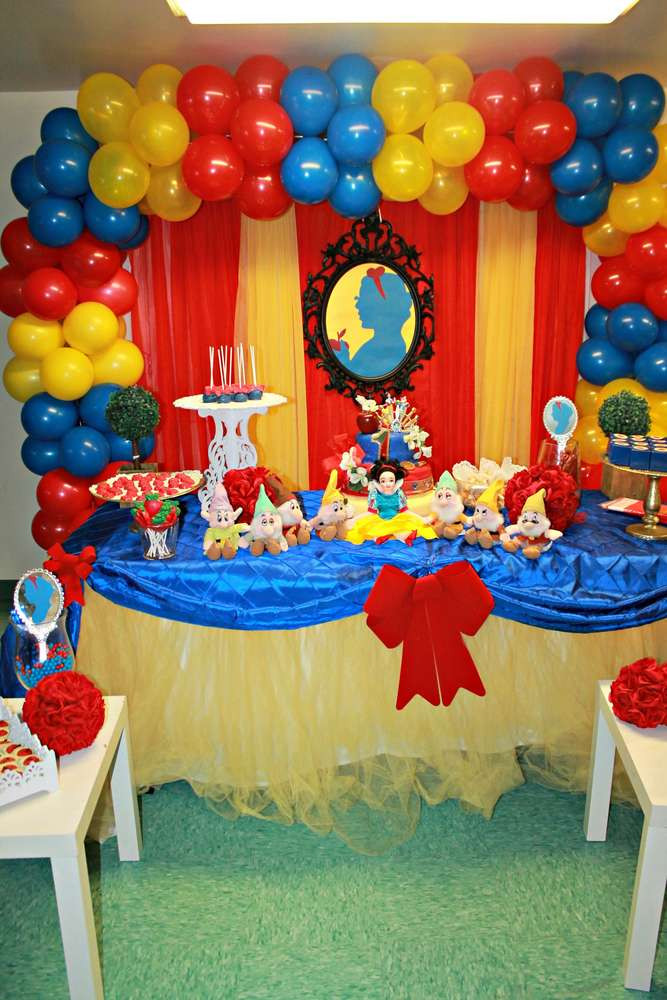 Best ideas about Snow White Birthday Party Ideas . Save or Pin Snow White Birthday Party Ideas 3 of 14 Now.