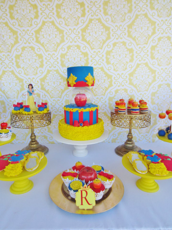 Best ideas about Snow White Birthday Party Ideas . Save or Pin Kara s Party Ideas Snow White Birthday Party Now.