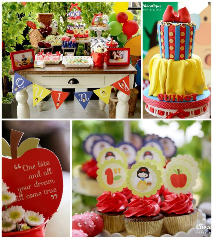 Best ideas about Snow White Birthday Party Ideas . Save or Pin Kara s Party Ideas Snow White Party Ideas Planning Idea Now.