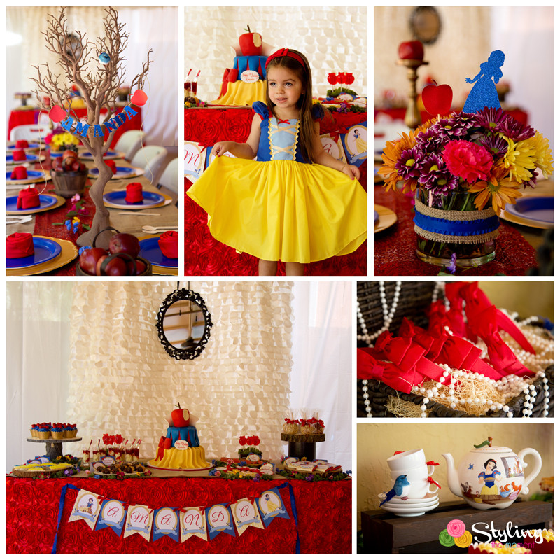 Best ideas about Snow White Birthday Party Ideas . Save or Pin Rustic Glam Snow White Party Now.