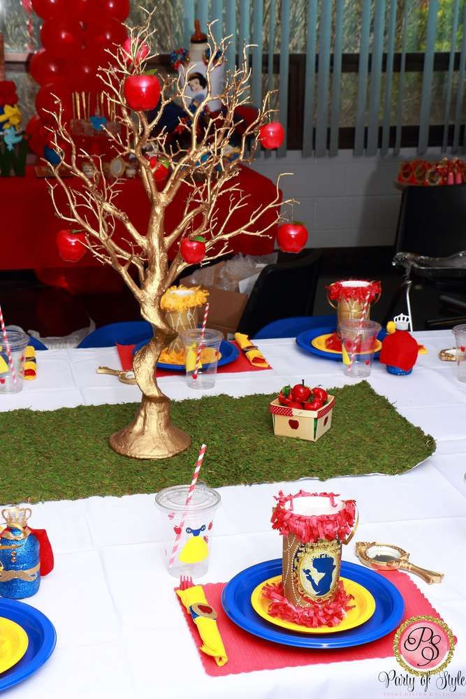 Best ideas about Snow White Birthday Party Ideas . Save or Pin Amazing Snow White birthday party See more party ideas at Now.