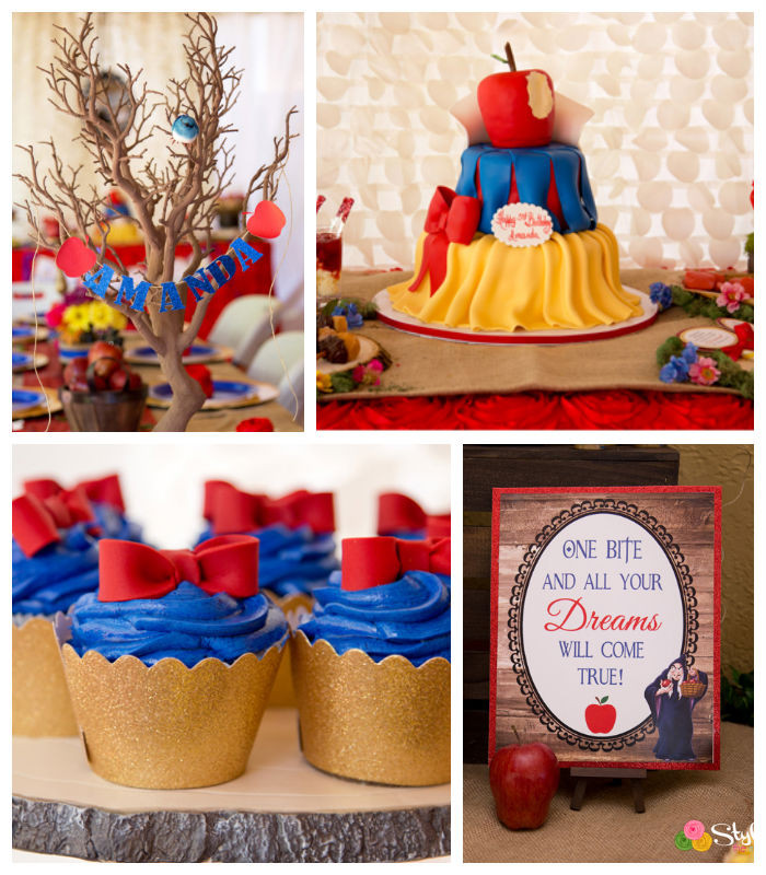 Best ideas about Snow White Birthday Party Ideas . Save or Pin snoww Now.