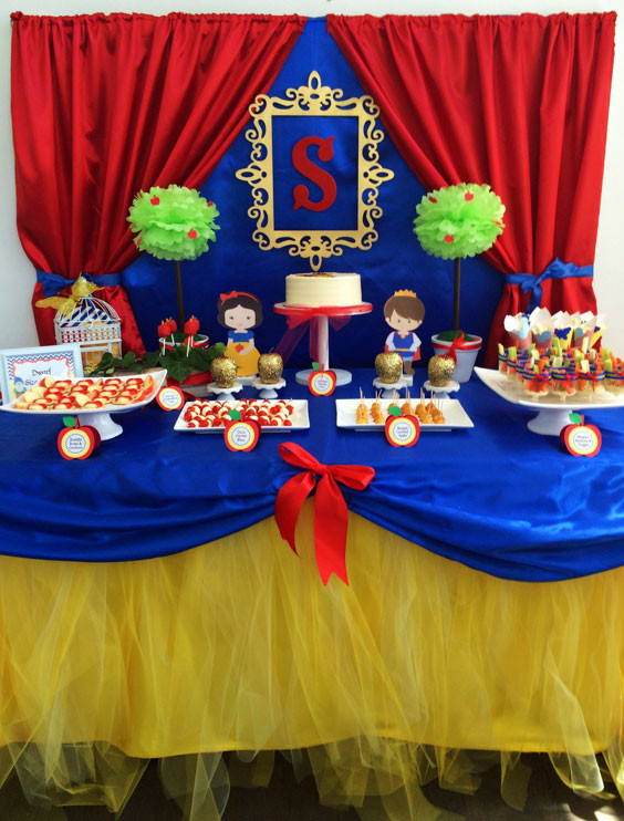 Best ideas about Snow White Birthday Party Ideas . Save or Pin Samantha s Snow White Birthday Project Nursery Now.