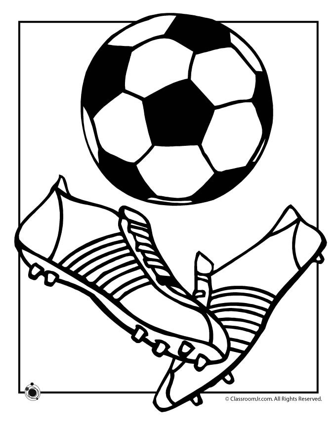Best ideas about Soccer Coloring Sheets For Kids . Save or Pin Coloring Pages Soccer Balls AZ Coloring Pages Now.