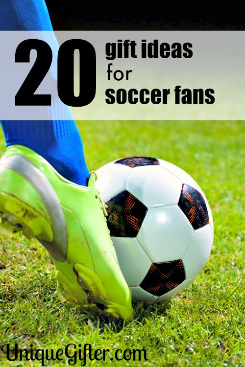 Best ideas about Soccer Gift Ideas . Save or Pin 20 Gifts for Soccer Fans Unique Gifter Now.