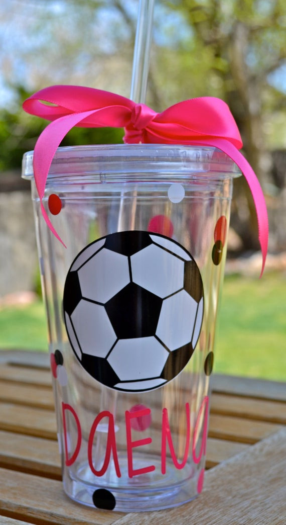 Best ideas about Soccer Gift Ideas . Save or Pin Items similar to Personalized soccer Tumbler Boys Girls Now.