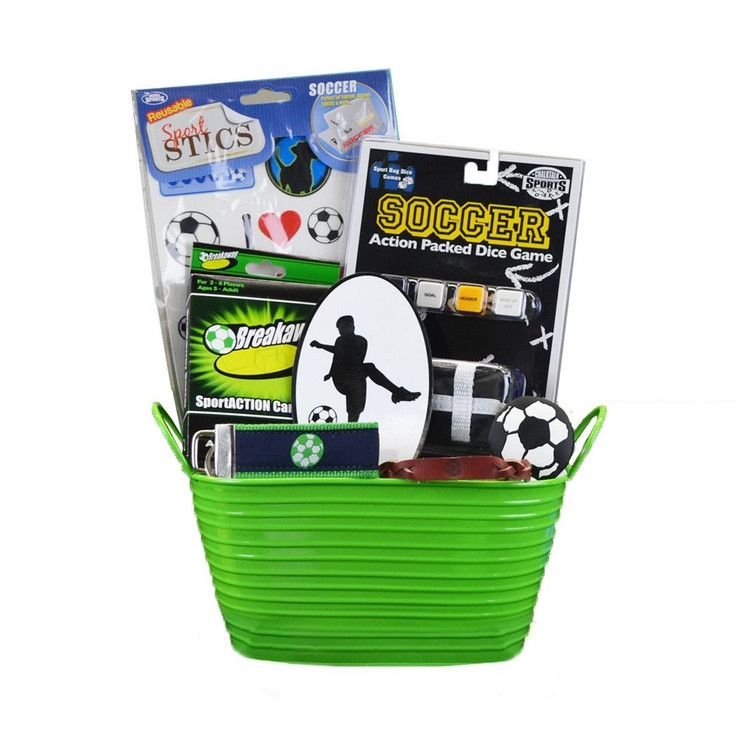 Best ideas about Soccer Gift Ideas . Save or Pin Soccer Boy Sports Gift Basket Amazon Toys & Games Now.