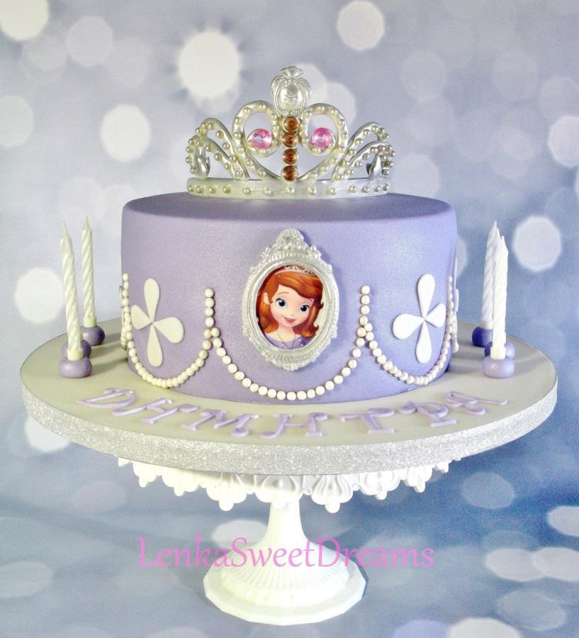 Best ideas about Sofia Birthday Cake . Save or Pin Princess Sofia cake Cake by LenkaSweetDreams CakesDecor Now.