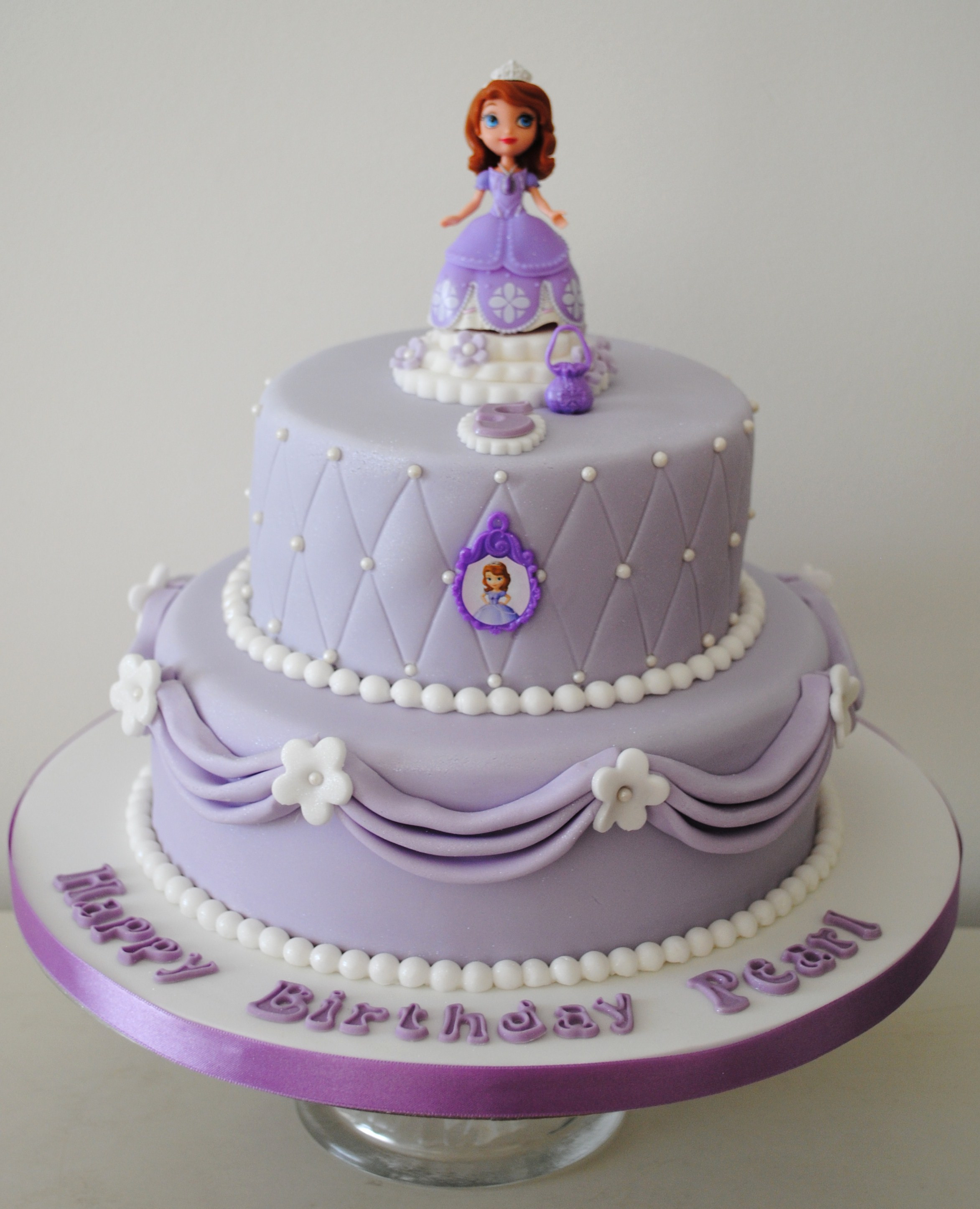 Best ideas about Sofia Birthday Cake . Save or Pin Sofia the first birthday novelty cakes Now.