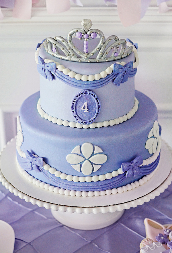 Best ideas about Sofia Birthday Cake . Save or Pin 9 Absolutely Gorgeous Princess Cakes Now.