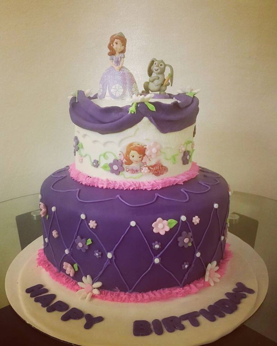 Best ideas about Sofia Birthday Cake . Save or Pin Sofia The First Birthday Cake CakeCentral Now.