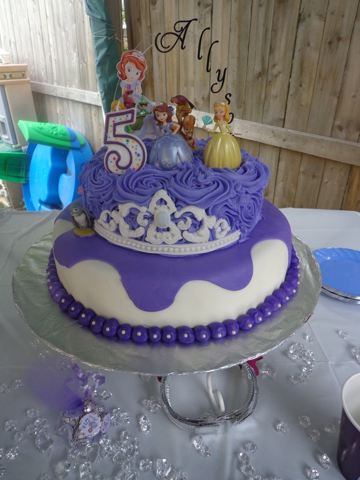 Best ideas about Sofia Birthday Cake . Save or Pin Ally s Sofia the First birthday cake Now.