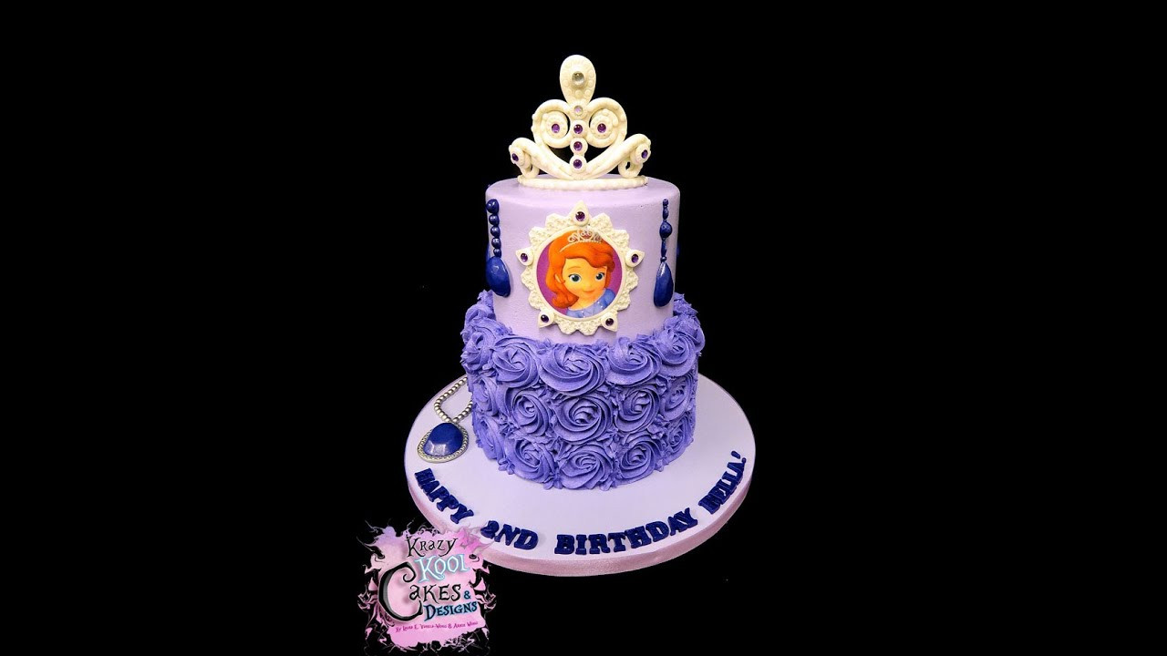 Best ideas about Sofia Birthday Cake . Save or Pin Sofia the First Birthday Cake Now.