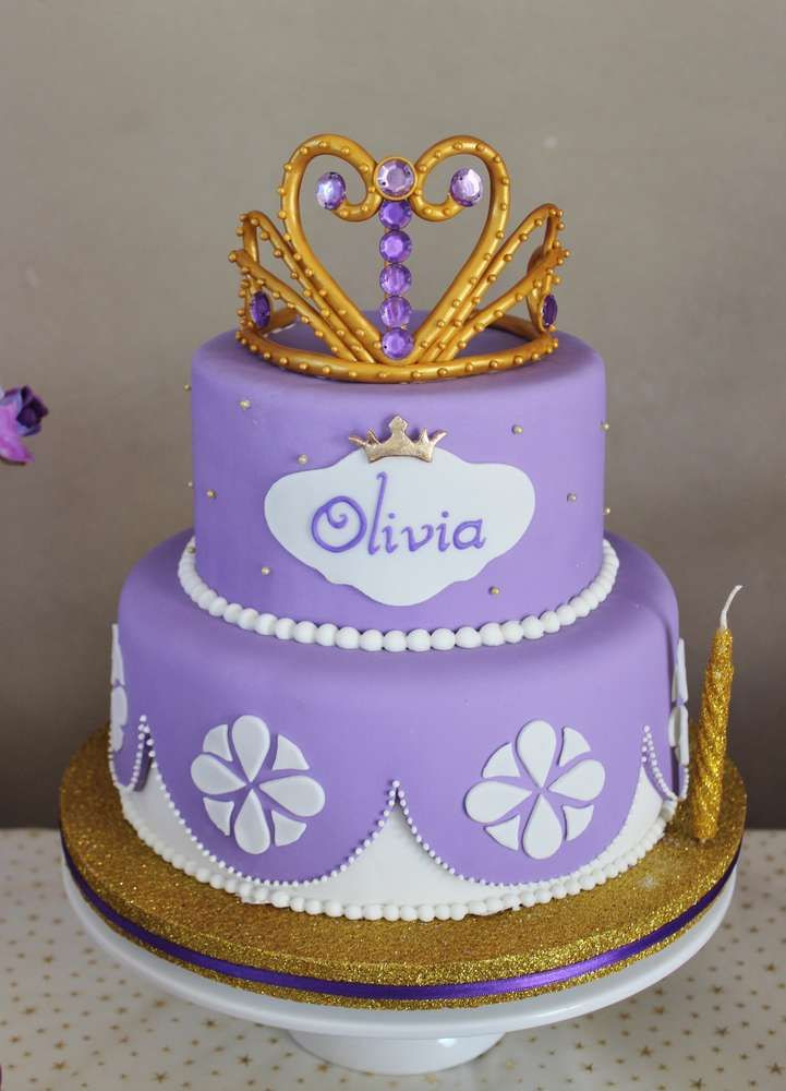 Best ideas about Sofia Birthday Cake . Save or Pin 25 Best Ideas about Princess Sofia Cake on Pinterest Now.