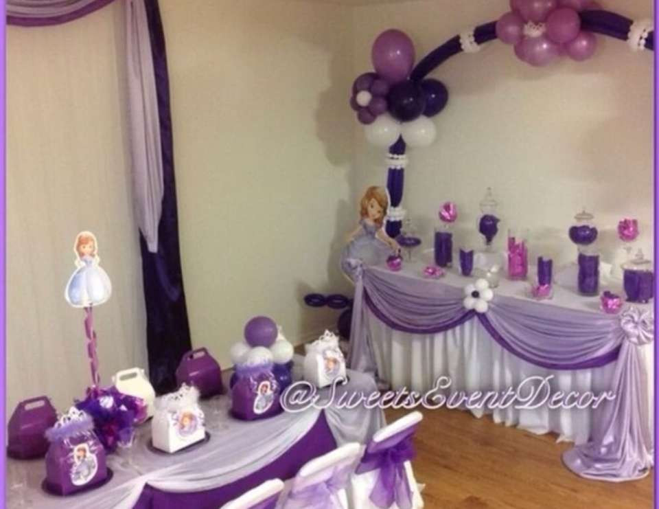 "Best ideas about Sofia The First Birthday Decorations . Save or Pin Sofia the First Birthday ""Sofia the First BDay Party Now."