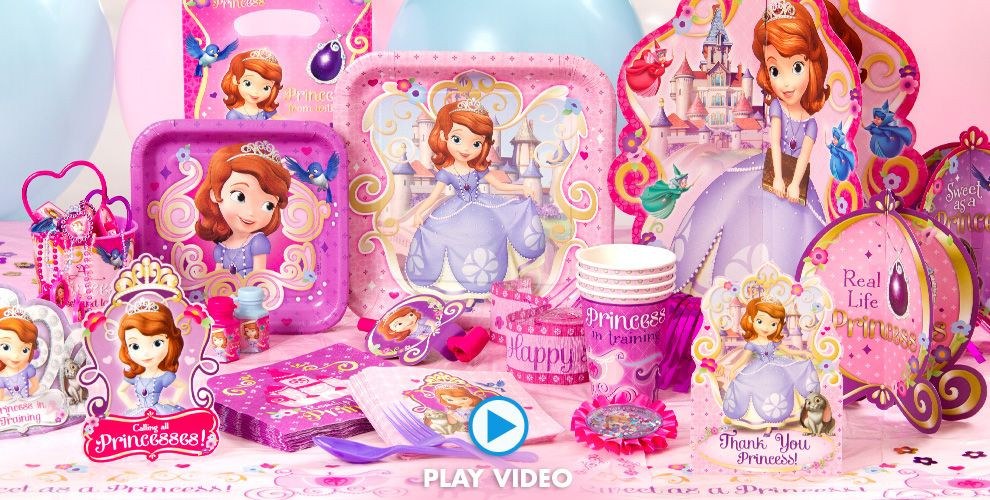 Best ideas about Sofia The First Birthday Decorations . Save or Pin Sofia the First Party Supplies Sofia the First Birthday Now.