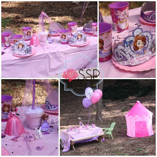 Best ideas about Sofia The First Birthday Decorations . Save or Pin Sofia The First Birthday Party Now.