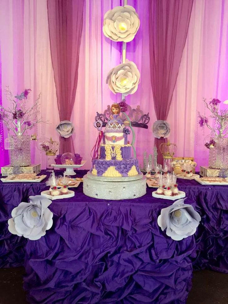 Best ideas about Sofia The First Birthday Decorations . Save or Pin 1000 images about Sofia the First Party Ideas on Now.