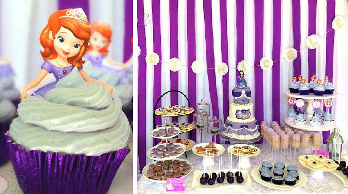 Best ideas about Sofia The First Birthday Decorations . Save or Pin Kara s Party Ideas Sofia The First 5th Birthday Party Now.