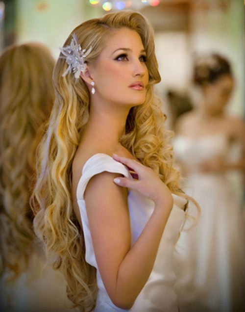 Best ideas about Soft Wave Hairstyles . Save or Pin Wedding Hairstyles that cover your ears Women Hairstyles Now.