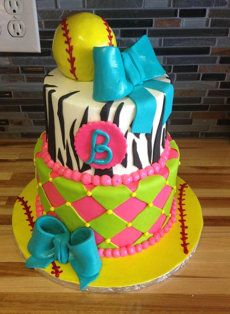 Best ideas about Softball Birthday Cake . Save or Pin 17 Best ideas about Softball Birthday Cakes on Pinterest Now.