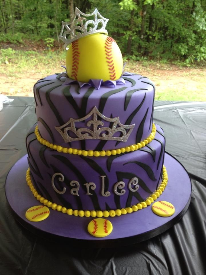 Best ideas about Softball Birthday Cake . Save or Pin Best 25 Softball birthday cakes ideas on Pinterest Now.