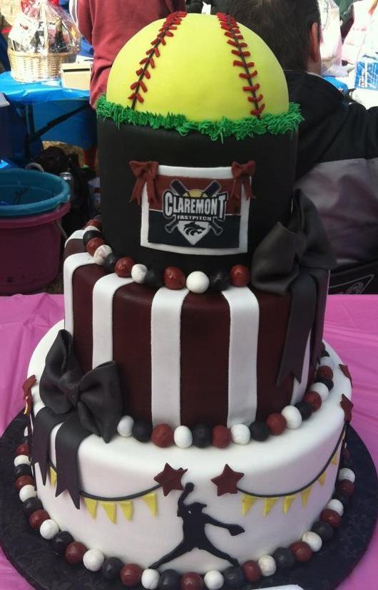 Best ideas about Softball Birthday Cake . Save or Pin 25 best ideas about Softball Birthday Cakes on Pinterest Now.