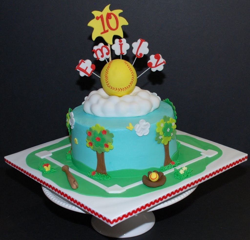 Best ideas about Softball Birthday Cake . Save or Pin The Bakery Next Door Softball Birthday Cake Now.
