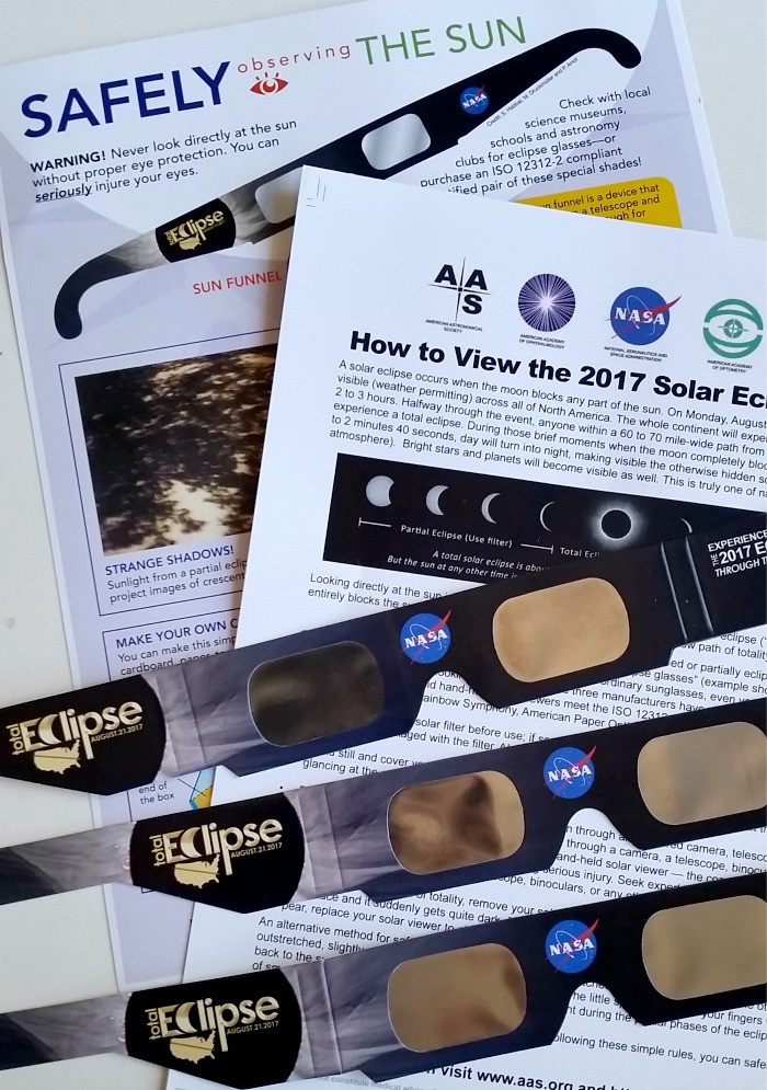 Best ideas about Solar Eclipse DIY Glasses . Save or Pin DIY Solar Eclipse Viewer Box and Viewing Safety Tips Now.