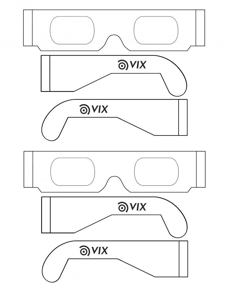 Best ideas about Solar Eclipse DIY Glasses . Save or Pin DIY Solar Eclipse Glasses Vix Now.